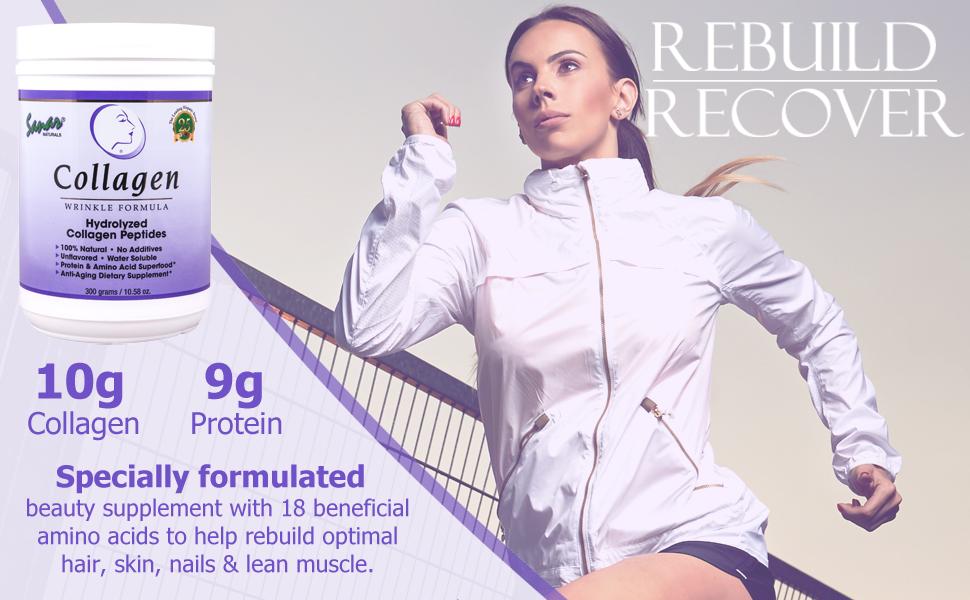 sanar naturals sanvall colageno collagen hidrolizado protein keto hair skin nails beauty hydrolyzed
