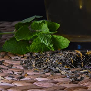 Loose leaf tea herbs