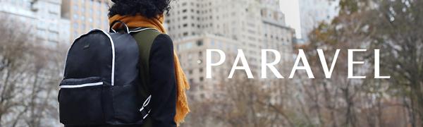 Paravel, backpack, fold up backpack, fold up bag