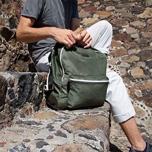 Paravel, Fold up Backpack, Backpack, Nylon Backpack