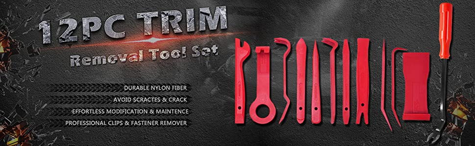 LEICESTERCN LST Auto Trim Removal Tool Kits for Car Audio