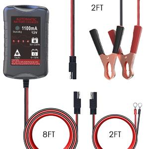 Amazon.com: Cargador de batería LST de 12 V para autos ...