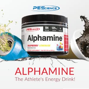 alphamine fat loss thermogenic weight management appetite suppressant pre workout pescience