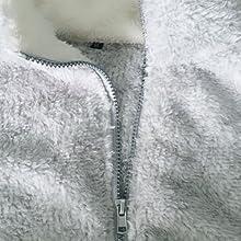 Zipped turtleneck