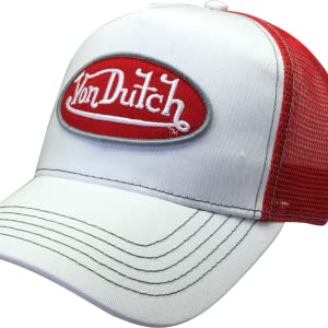 The Original and Licensed Von Dutch Product. Cotton Front 1dd58438f77f