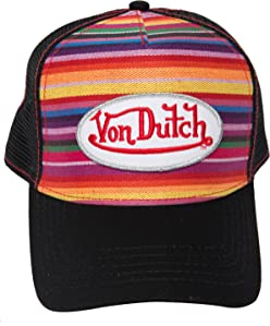 c4c8598c7dc17 Von Dutch is Alive and well! Bringing you a blast from the past with our  velvet trucker hats. Hat pictured above is featured in pink and blue.