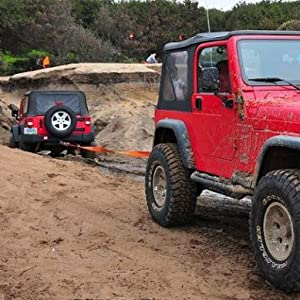 Vehicle recovery in mud