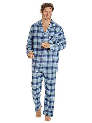 Mens Flannel Pajama Set