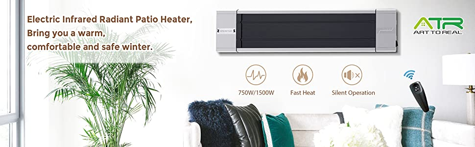 electric infrared patio heater