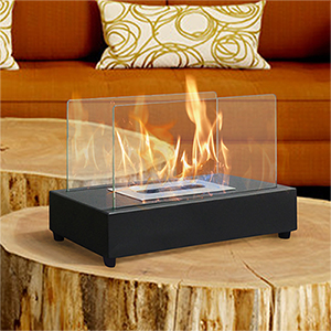 table top portable bio ethanol fireplace