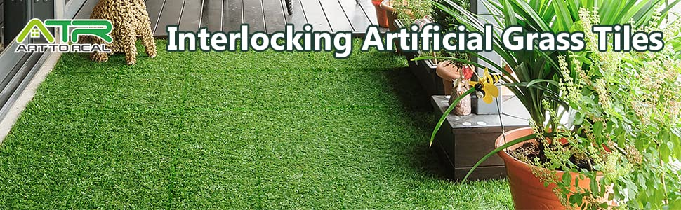 artificial grass flooring tiles