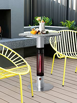 electric bistro table heater