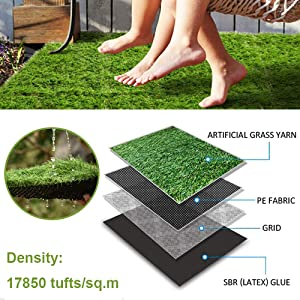 artificial grass tiles