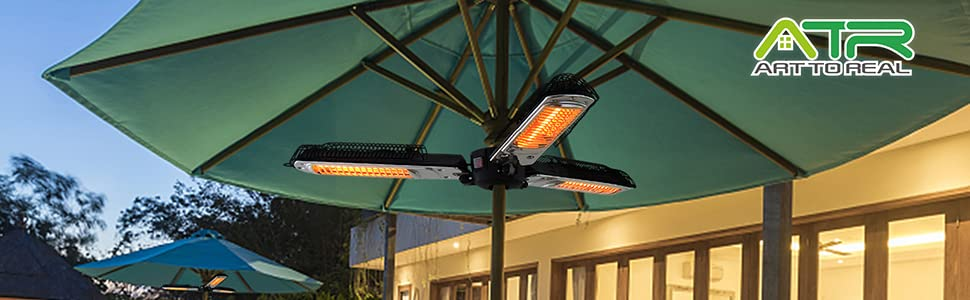 Electric Umbrella Heater