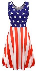flag dress