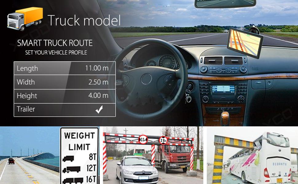 truck gps speedcam route