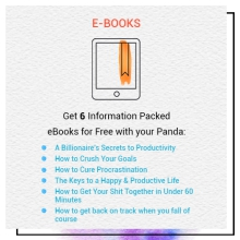 Bullets of eBooks included