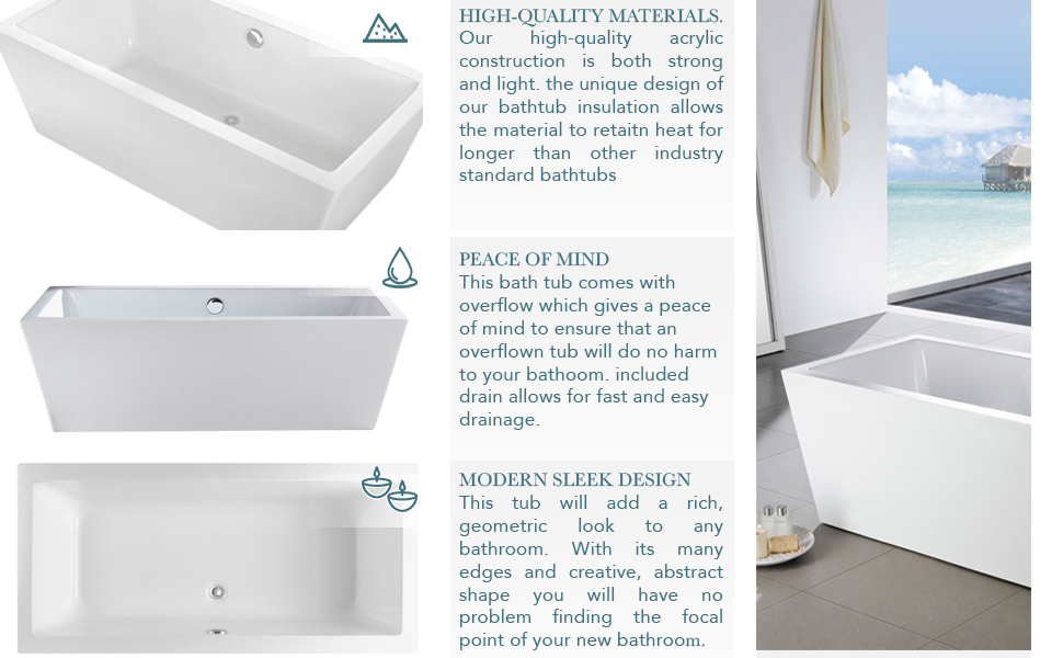 Materials For Bathtubs