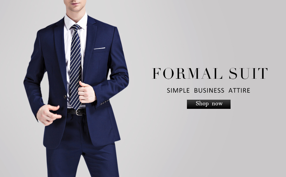 Amazon.com: YFFUSHI Traje de 2 piezas para hombre, estilo ...
