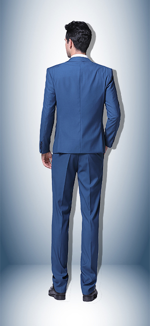 YFFUSHI Mens One Button Formal 2 Piece Suits Slim Fit Multi-Color ...
