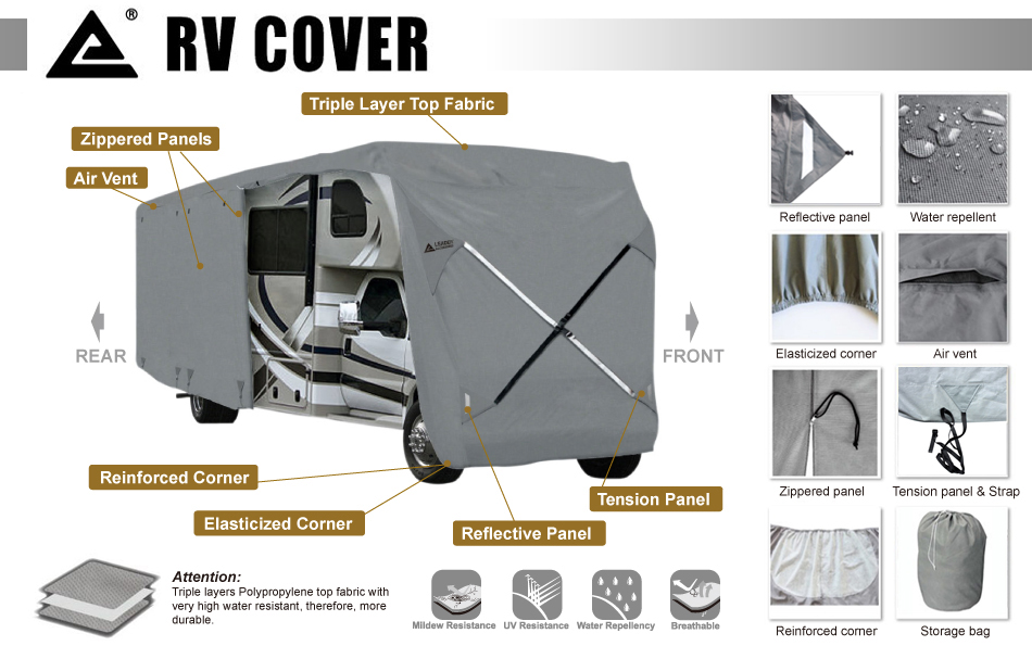 Leader Accessories Class C RV Cover