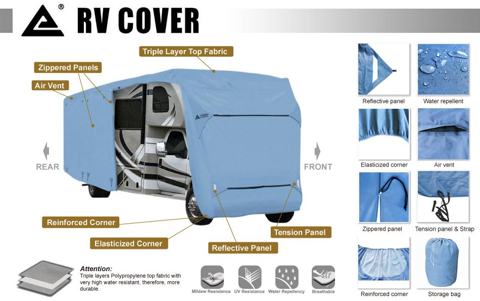 Leader Accessories Class C RV Cover