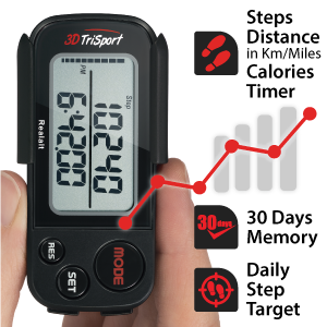 pedometer, pedometer for walking, best pedometer, step counter