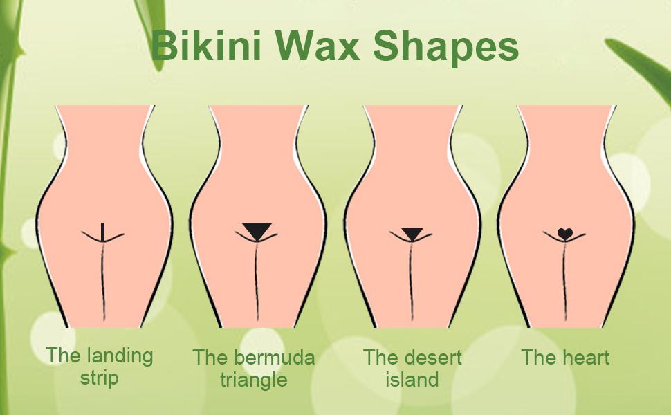 Removal Kit Home Warmer KitVennco Full Bikini Wax Depilatory Body Brazilian Hair Waxing thrdsQ