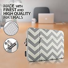 chevron macbook sleeve laptop cover case