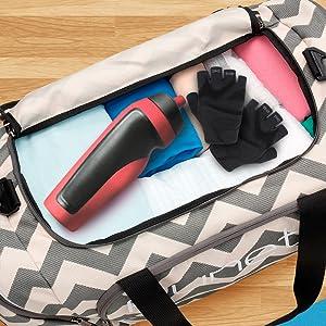 92380df2006c Amazon.com  Runetz - Gym Bag for Women and Men - Ideal Workout ...