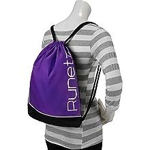 Purple Gym Bag Shoulder Carry