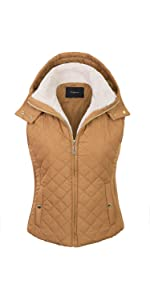 68fe97cfeea KOGMO Womens Quilted Fully Lined Lightweight Zip up Vest S-3X · KOGMO  Womens Quilted Fully Lined Lightweight Zip Up Vest With Fur Lining (S-3X)  ...
