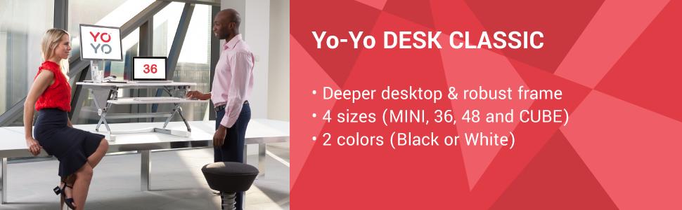 yo yo desk classic