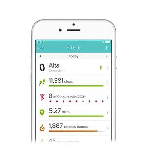 Amazon com: Waterfi Waterproof Fitbit Alta HR – Silver/Black