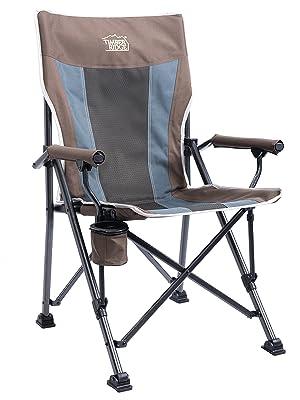 Amazon Com Timber Ridge Camping Chair 400lbs Folding