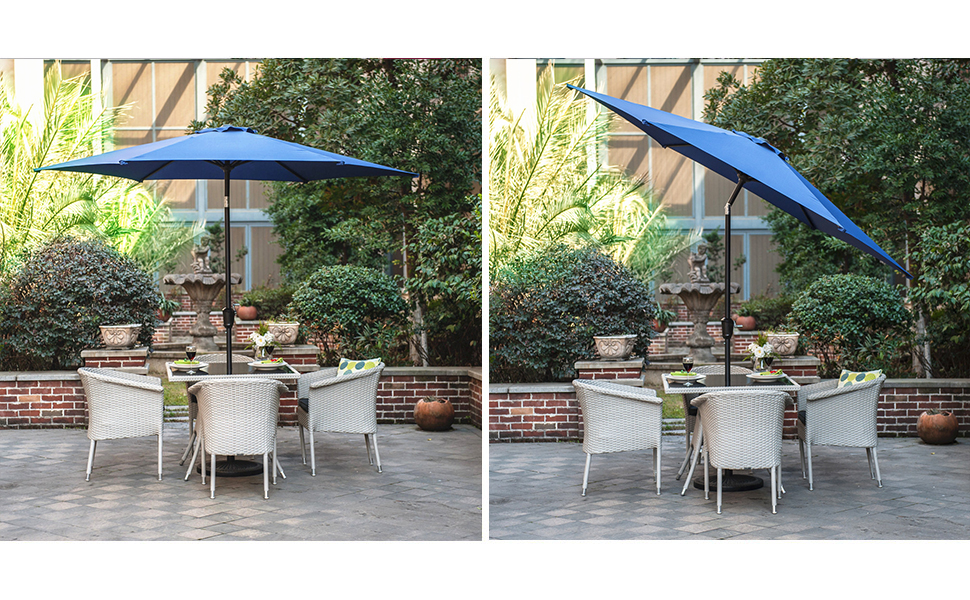 Control The Exposure To The Sun By Installing Your Outdoor Furniture With  An Grand Patio Market Umbrella. This Umbrella Is Perfect ...
