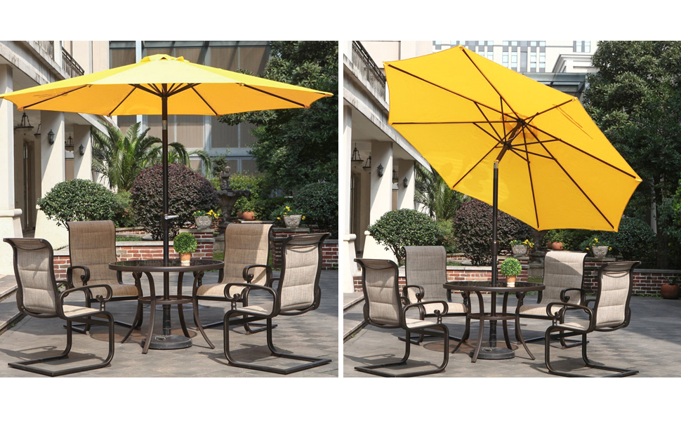 Control The Exposure To The Sun By Installing Your Outdoor Furniture With  An Grand Patio Market Umbrella .