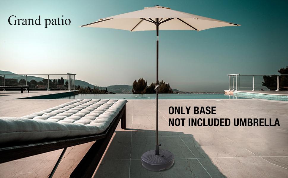 Amazon Com Grand Patio Umbrella Base Eco Friendly Hdpe