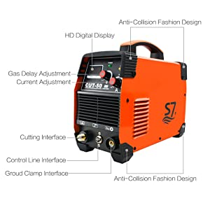 With high speed and precision cuts combined with low cost, air plasma cutter is suitable for stainless steel, alloy steel, mild steel, copper, aluminum and ...