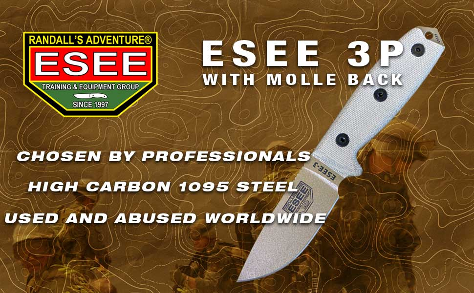 Esee 3P w/Molle Back