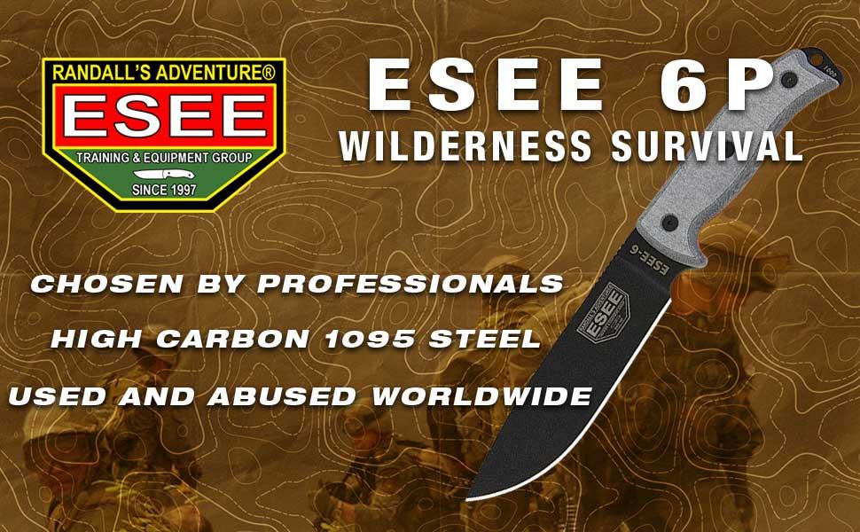 Esee 6P Survival Knife