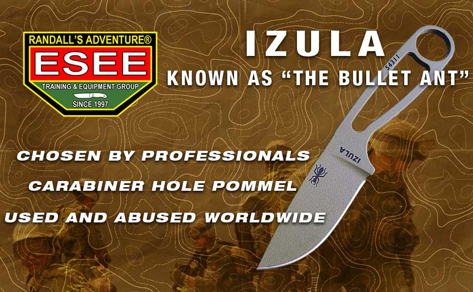 ESEE Izula Knife with Sheath