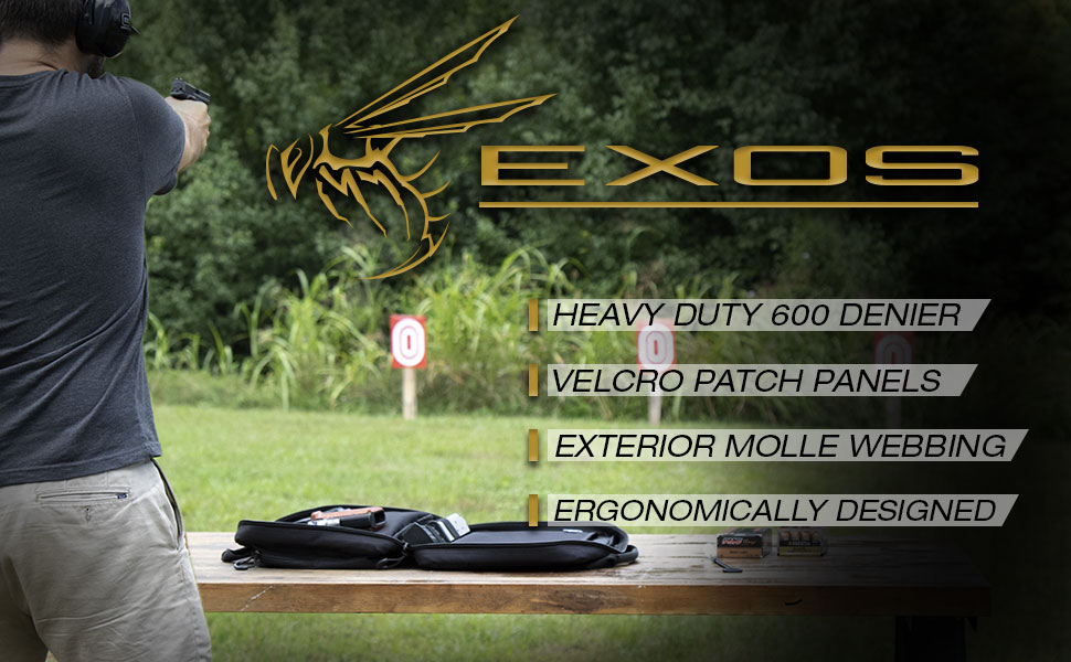 EXOS Double Pistol Bag