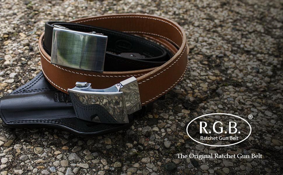 Amazon.com : RGB the Original Ratchet Gun Belt for Concealed Carry
