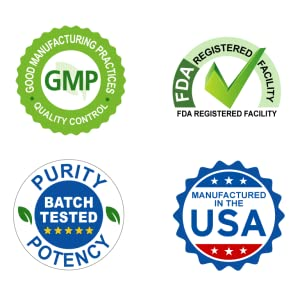 Manufactured in the USA in GMP labs FDA registered highest potency and purity resveratrol supplement
