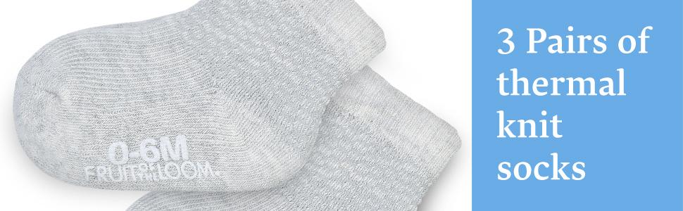 thermal knit socks
