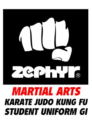 Zephyr Tactical Martial Arts Karate Judo Kung Fu Complete Student Uniform Gi Training Practice