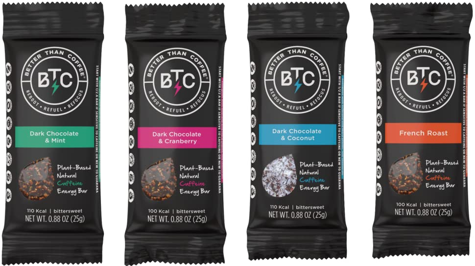 Amazon Com Better Than Coffee Health Energy Bars Gluten
