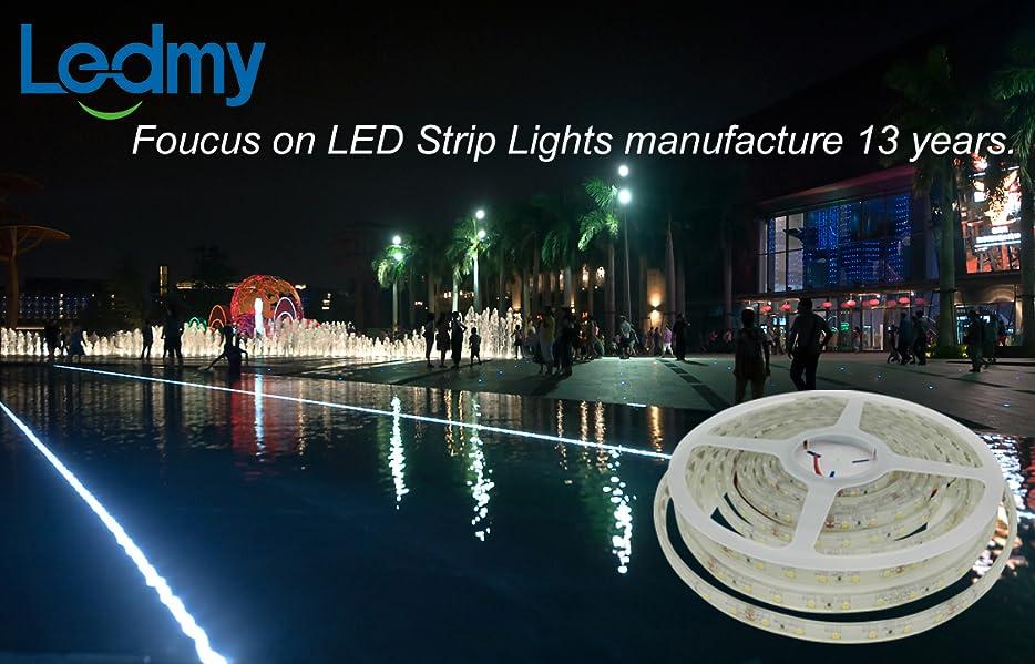 Amazon ledmy led strip waterproof led light strip super bright product description aloadofball Images