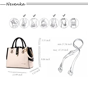 283f9ed06a69 There are several ways to hold this purses and handbags: portable,  diagonal, shoulder.